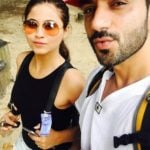 Ali Merchant with his present wife