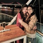 Alka Yagnik With Her Daughter