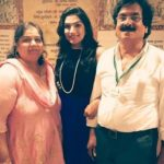 Anaya Soni with Parents