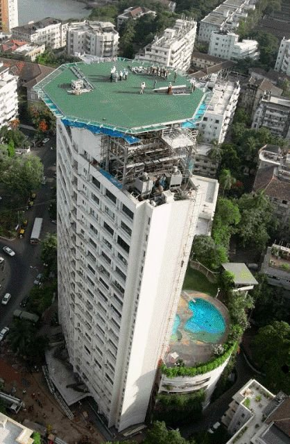 Antilia Top View