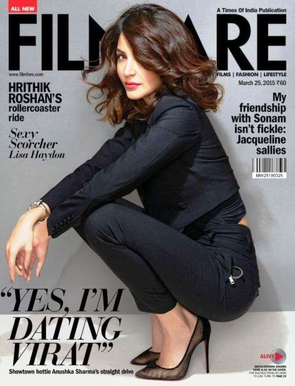 Anushka Sharma Filmfare magazine March 2015 issue
