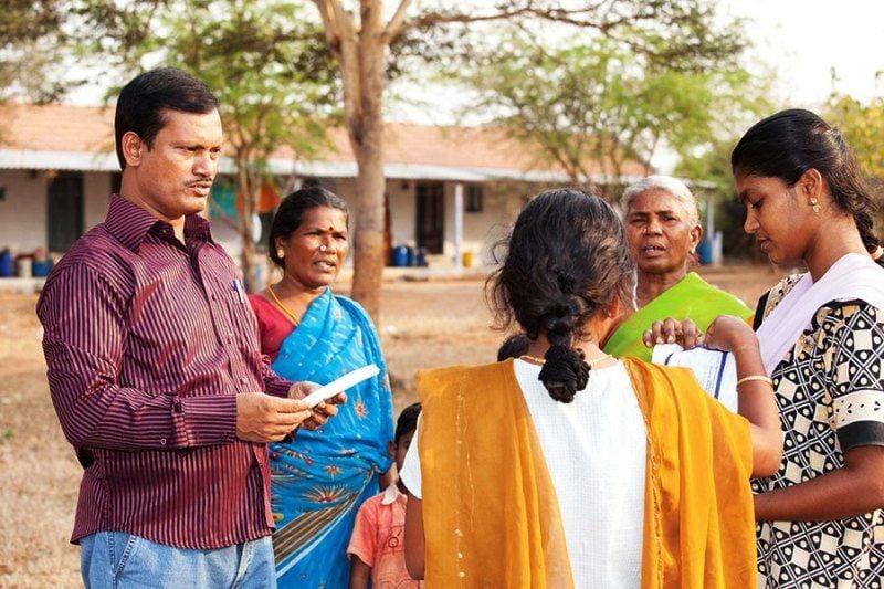 Arunachalam Muruganantham Promoting His Sanitary Pads