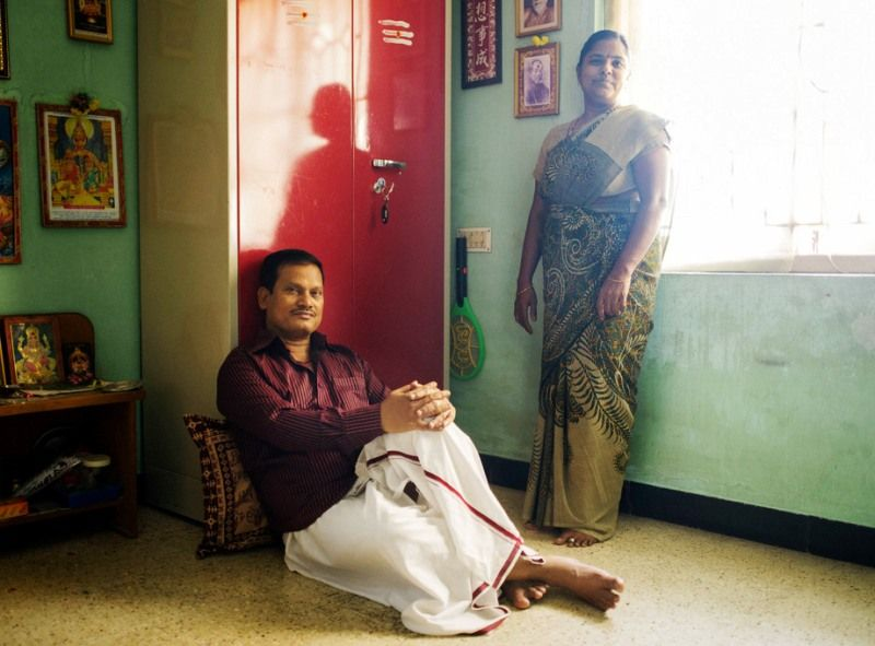 Arunachalam Muruganantham With His Wife