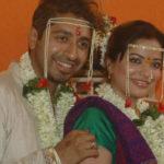 Arzoo Govitrikar with her husband