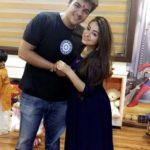 Muskan Chanchlani with her brother Ashish Chanchlani