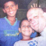 Ashok Kamte With His Sons
