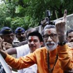 Bal Thackeray Casting His Vote