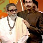 Bal Thackeray With His Son Uddhav Thackeray