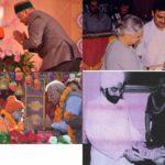 Brahmrishi Shree Kumar Swami Ji Receiving Honours From Great Leaders of India