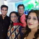 Chestha Bhagat with family