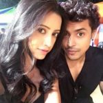 Debashree Biswas with boyfriend