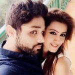 Deiya Sindhi with husband