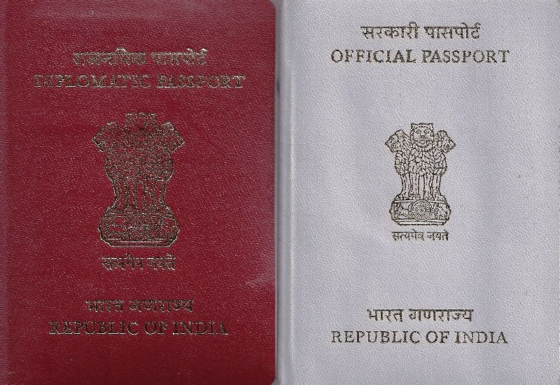 Diplomatic Passport India