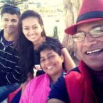 Ester Noronha with her family