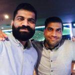 Gaurav Chaudhary with his brother Pradeep