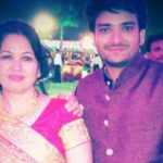 Gaurav Mukesh with mother