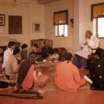 Hariprasad Chaurasia With His Students in Gurukul