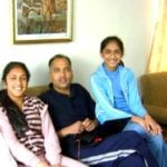 Jai Ram Thakur With His Daughters