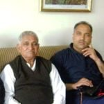Jai Ram Thakur With His Father