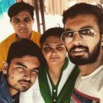 Kabir Mradul with family