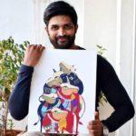 Kamal Kamaraju loves painting