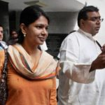 Kanimozhi With Her Husband G. Aravindaan