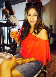 Kate Sharma Drinking Alcohol