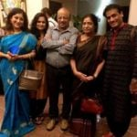 Lakshmi Gopalaswamy with her family