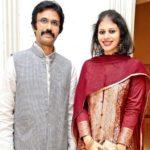 Mohammad Ali Baig with his wife Noor Baig