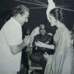 Mohammed Rafi receiving Filmfare Award