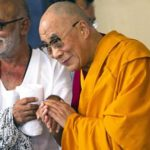 Morari Bapu with Dalai Lama
