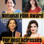 "Complete List of Winners of ""National Film Award"" For Best Actresses (1967-2016)"