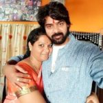 Naveen Chandra with his sister