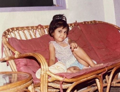 Prajakta Koli's Childhood Picture