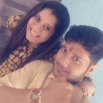 Priyanka Deshpande with her brother Rohit Deshpande