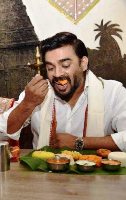 R Madhavan Vegan