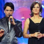 Rakshanda Khan together hosted with her husband