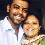 Rohan Gujar with his sister