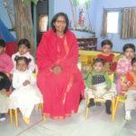 Sadhvi Ritambhara In Vatsalaya Gram Creche