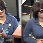 Sandeep Kaur Caught in a Camera While Robbing a Bank