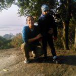 Sanjukta Parashar with her Son