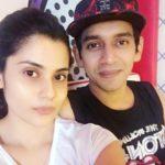 Shamin Mannan with her husband Atul Kumar