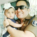 Shivdeep Lande With His Daughter