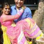 Shivdeep Lande With His Wife