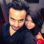 Shritama Mukherjee with boyfriend