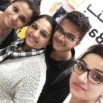 Shweta Gai with her mother, brother, and sister