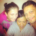 Siddharth Bharadwaj with his family