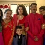 Siddhi Dalvi with her family
