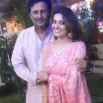Smita Bansal with Husband
