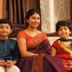 Smita Sabharwal With Her Children